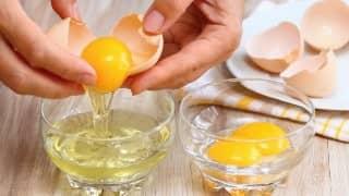 Masque aux œufs pour Cheveux